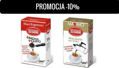 Kawa mielona Palombini -10%